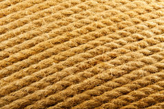 Rope texture. Background of the rope, ship's background, Photo rope braid, natural texture, decorative texture, beige texture, woven background Stock Image