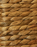 Rope Texture. Rope or Wicker handmade texture on a basket Royalty Free Stock Photography