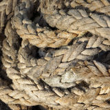Rope textured background. Stock Photo