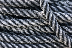 Rope textures Stock Photography