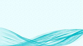 Rope of Thread blue vector background royalty free illustration