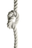 Rope with tie stock image