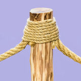 Rope tied Stock Image