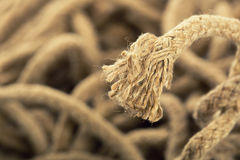 Rope tip Stock Images