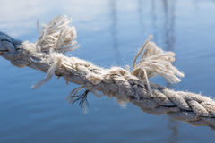 Rope about to break Royalty Free Stock Photos