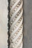 Rope Twist Marble Column Royalty Free Stock Photos