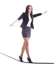 Rope-walker Stock Image