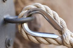 Rope Wall Stock Photography