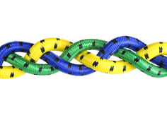 Rope Weave. Signifying strength and security stock images