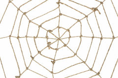 Rope Web Royalty Free Stock Photography