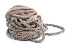 Rope on white background Stock Photos
