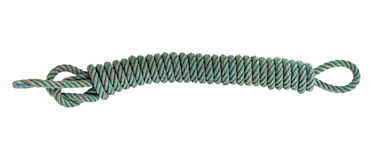 Rope on white isolate background. Stock Photo