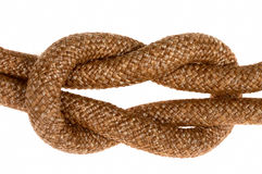 Free Rope With Knot Stock Image - 3144611