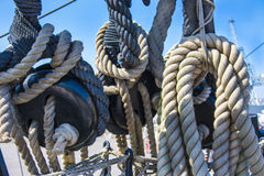 Rope Work Royalty Free Stock Photo