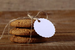 Roped oatcake Royalty Free Stock Images