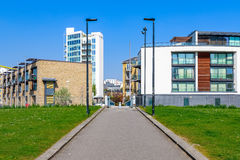 Ropemakersgebied, Limehouse, Londen Stock Afbeelding