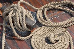 Ropes Royalty Free Stock Photography