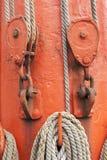Ropes And Mast Royalty Free Stock Photos