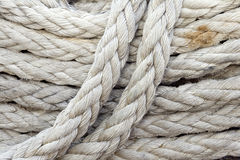 Ropes background Royalty Free Stock Photos