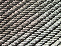 Ropes background Stock Images