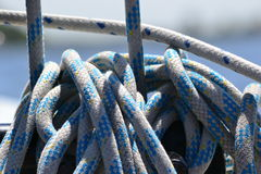 Ropes in bundles Stock Photography