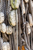 Ropes and buoys Stock Photo