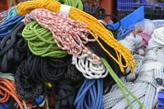 Ropes and cables Stock Images