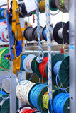 Ropes and cables for yachting Royalty Free Stock Photos