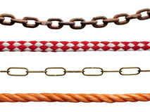 Ropes and chains Royalty Free Stock Photo