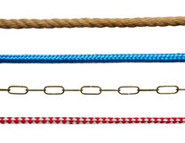Ropes and chains Royalty Free Stock Photography