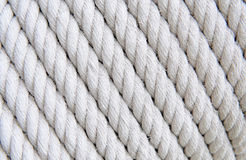 Ropes close-up Stock Images