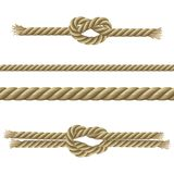 Ropes Decorative Set Stock Photo