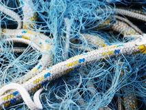 ropes and fishing nets Royalty Free Stock Photo