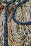 Ropes hanging to dry Stock Photography