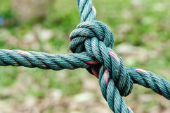 Ropes knot Royalty Free Stock Photos