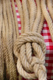 ROPES AND KNOT Stock Photography