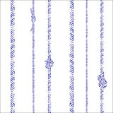 Ropes and knots pattern Royalty Free Stock Photo