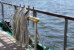 Ropes marine Stock Photography