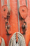 Ropes and mast Royalty Free Stock Photos