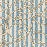 Ropes pattern in marine style Stock Photography