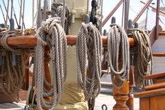 Ropes and Rigging Royalty Free Stock Image