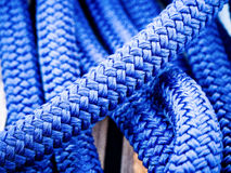 Ropes of a sailing board Royalty Free Stock Photos