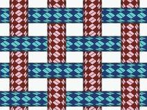 Ropes seamless pattern royalty free stock photo