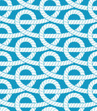 Ropes seamless pattern Stock Photography