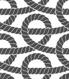 Ropes seamless pattern Stock Photo