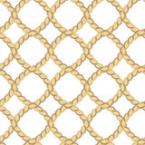 Ropes seamless pattern Royalty Free Stock Images