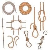 ropes set Royalty Free Stock Photo
