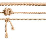 Ropes set isolated Stock Photography
