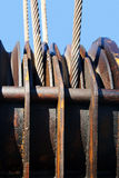 Ropes of steel Stock Photos