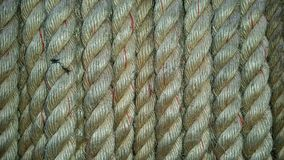 A ropes texture detail Stock Photos
